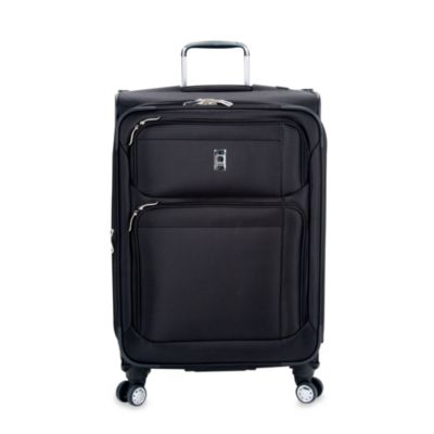 Delsey Helium Breeze 4.0 25-Inch Upright Spinner in Black