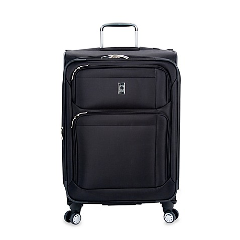 DELSEY Helium Breeze 4.0 25-Inch 8-Wheel Expandable Spinner in Black