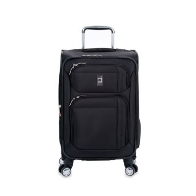 DELSEY Helium Breeze 4.0 20-inch 8-Wheel Expandable Carry On Spinner in Black