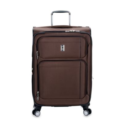 Delsey Helium Breeze 4.0 25-Inch Upright Spinner in Brown