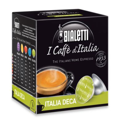 Bialetti® I Caffè d'Italia 16-Count Italian Deca Espresso Capsules