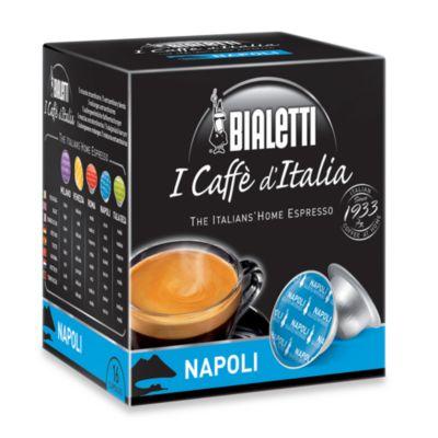 Bialetti® I Caffè d'Italia 16-Count Napoli Espresso Capsules