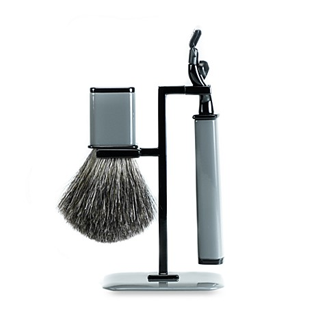 Axwell-USA Shaving Set RBSSeries in Grey & Black