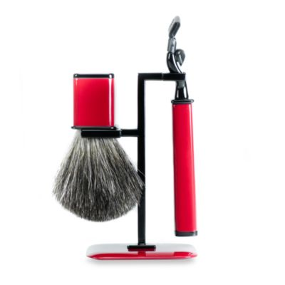 Axwell USA Shaving Set RBS Series in Red and Black