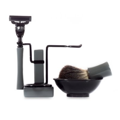 Axwell USA Shaving Set RBSB Series in Grey & Black