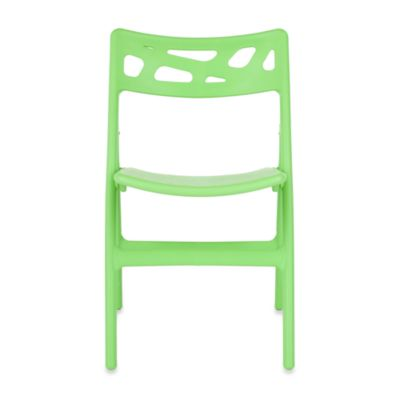 Safavieh Timothy Set of 4 Folding Chairs in Green