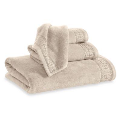Elizabeth Arden™ Signature Hand Towel in Tan