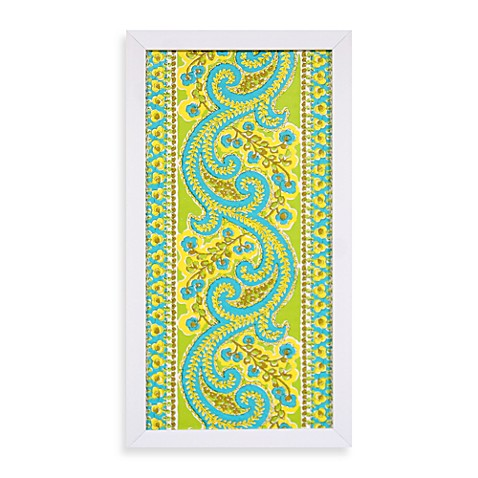 Calypso Panel Wall Art in Blue