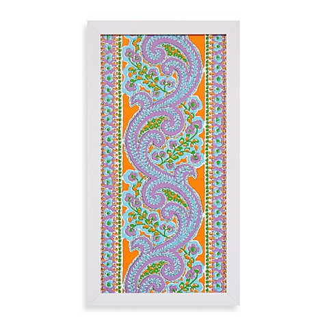 Calypso Panel Wall Art in Green