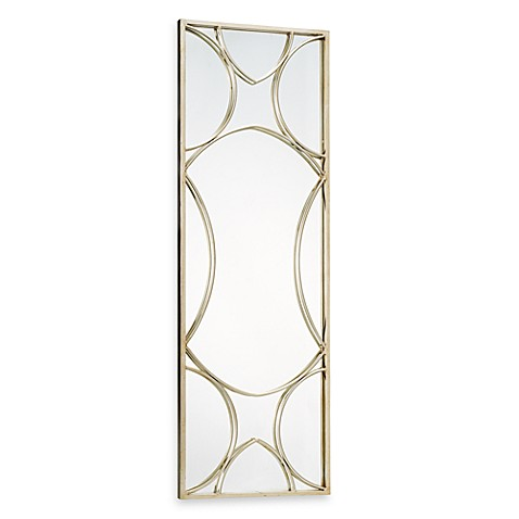 Art Metal Geometric Mirror
