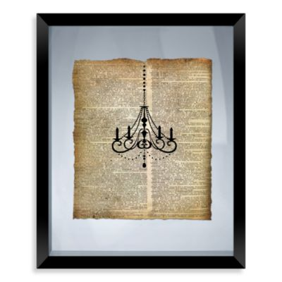 Chandelier Framed Wall Art
