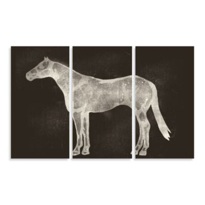 Horses Three-Panel Wall Art