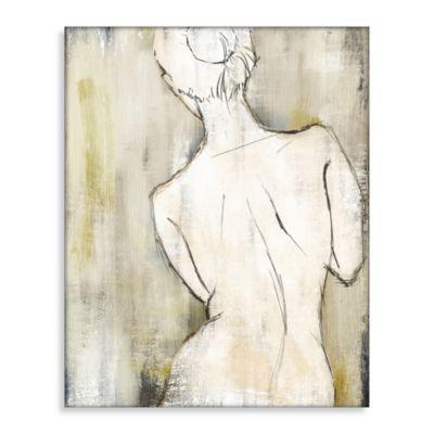 Cream Canvas Art