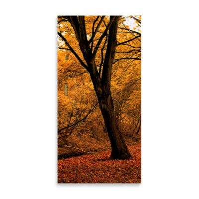 Well-Travelled Right Autumn Leaves Wall Art
