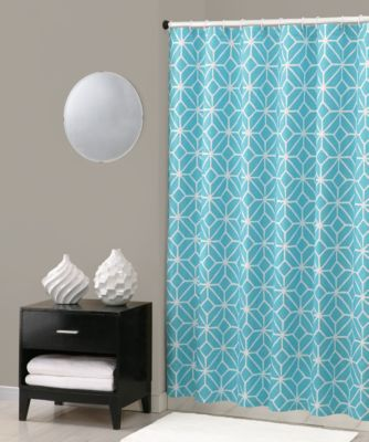 Trina Turk® Trellis Shower Curtain in Turquoise