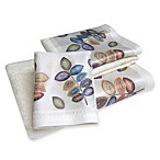 Croscill® Mosaic Leaves FingertipTowel