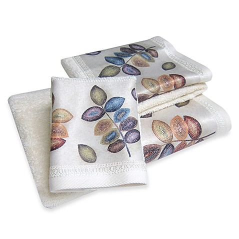 Croscill® Mosaic Leaves Bath Towel