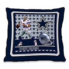 Biggshots Tony Romo First Down Action Sports 18-Inch Toss Pillow