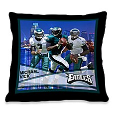 Biggshots Michael Vick Hometown Action Sports 18-Inch Toss Pillow