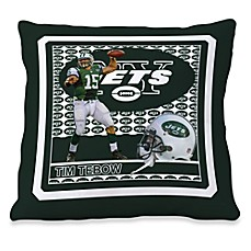 Biggshots Time Tebow First Down Action Sports 18-Inch Toss Pillow