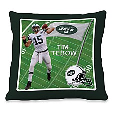 Biggshots Time Tebow Game Time Action Sports 18-Inch Toss Pillow