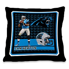 Biggshots Cam Newton First Down Action Sports 18-Inch Toss Pillow