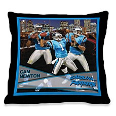 Biggshots Cam Newton Hometown Action Sports 18-Inch Toss Pillow