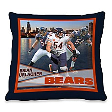 Biggshots Brian Urlacher Hometown Action Sports 18-Inch Toss Pillow