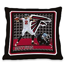 Biggshots Matt Ryan First Down Action Sports 18-Inch Toss Pillow