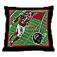 Biggshots Matt Ryan Game Time Action Sports 18-Inch Toss Pillow