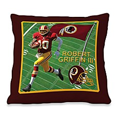 Biggshots Robert Griffin III Game Time Action Sports 18-Inch Toss Pillow