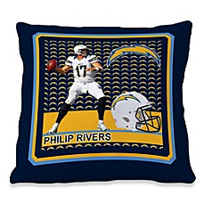 Biggshots Phillip Rivers First Down Action Sports 18-Inch Toss Pillow