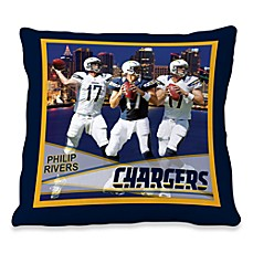 Biggshots Phillip Rivers Hometown Action Sports 18-Inch Toss Pillow