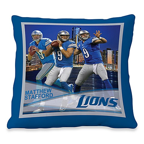 Biggshots Matthew Stafford Hometown Action Sports 18-Inch Toss Pillow