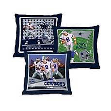 Biggshots Tony Romo Action Sports 18-Inch Toss Pillow