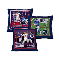 Biggshots Eli Manning Action Sports 18-Inch Toss Pillow