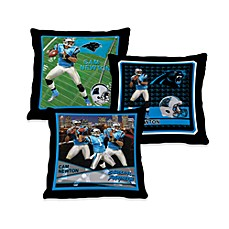 Biggshots Cam Newton Action Sports 18-Inch Toss Pillow