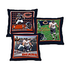 Biggshots Brian Urlacher Action Sports 18-Inch Toss Pillow