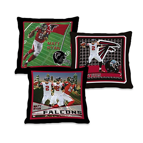 Biggshots Matt Ryan Action Sports 18-Inch Toss Pillow