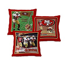 Biggshots Frank Gore Action Sports 18-Inch Toss Pillow
