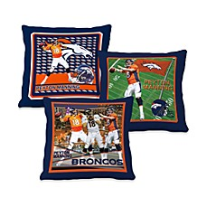 Biggshots Peyton Manning Action Sports 18-Inch Toss Pillow
