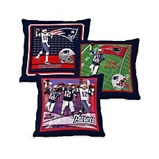 Biggshots Tom Brady Action Sports 18-Inch Toss Pillow