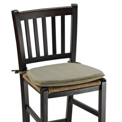 Memory Foam Chair Cushion in Green Tea