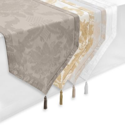 Waterford® Linens Damascus 90-Inch Table Runner