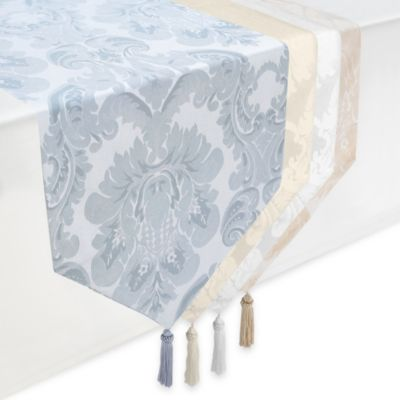 White On White Table Runners