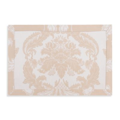 Waterford® Linens Damascus Placemat in Moonstone