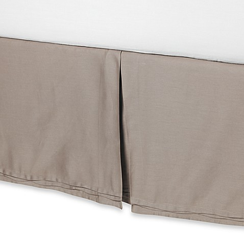 Nicole Miller® Currents Driftwood Bed Skirt