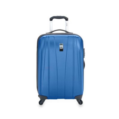 Delsey Helium Shadow 21-Inch Hardside Carry-On Spinner in Blue