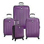 Delsey Helium Shadow Hardside Spinner Collection in Purple
