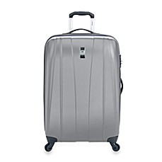 DELSEY Helium Shadow 21-Inch Hardside Carry-On Spinner in Grey